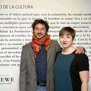 Los ganadores, Antonio Lucas y Elena Medel.