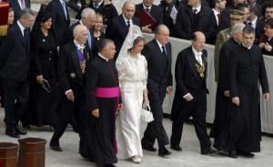 Delegación española en Roma. / Foto: ww.casareal.es