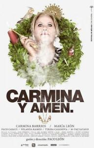 Cartel de la película 'Carmina y amén'