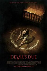 Cartel de 'El heredero del diablo'.