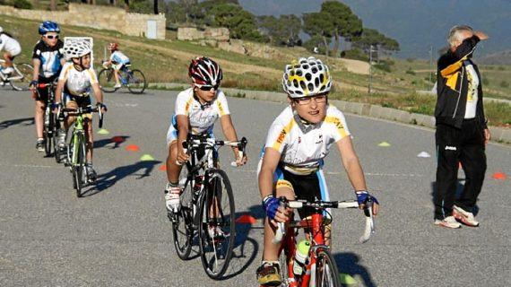La Escuela Ciclista de la Fundación PD Víctor Sastre comienza sus entrenamientos