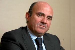 El ministro Luis de Guindos. / Foto: www.lamoncloa.gob.es