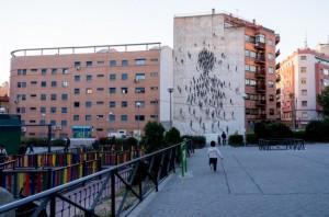 Arte urbano en el barrio de Tetuan / http://www.arte-en-la-calle.com