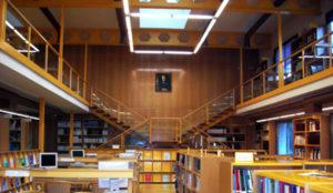 Biblioteca en el distrito de Chamartín
