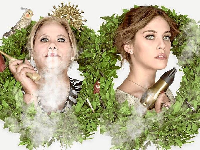 Las actrices de 'Carmina y Amén'.