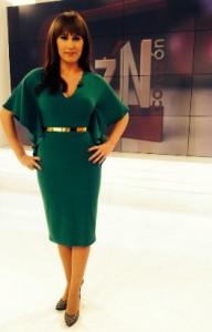 La presentadora Carolina Casado. / Foto: Twitter @carolcasadotve