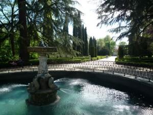 Jardín El Capricho en Madrid