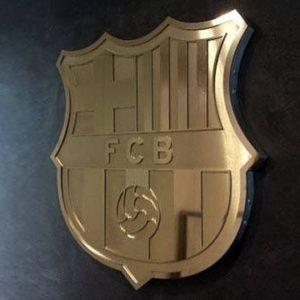 Escudo del Fútbol Club Barcelona.