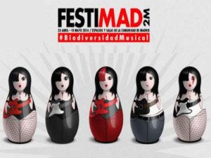 Cartel de Festimad 2014