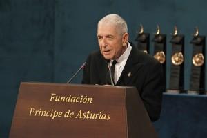 Leonard Cohen, Premio Príncipe de las Letras en 2011