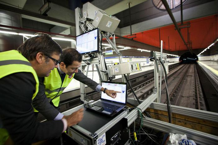 Trabajos de Euroconsult en el Metro de Madrid