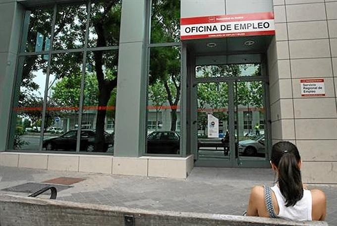 Una de las oficinas de empleo del territorio español.