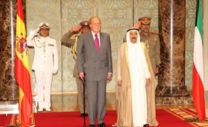 Su Majestad el Rey en una reciente visita a Kuwait. / Foto: www.casareal.es