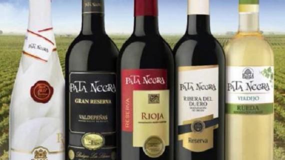 La marca de vinos 'Pata Negra', segunda en el ranking de los caldos con DO más vendidos este 2014