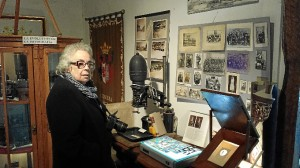 La fotógrafa catalana en el Museo Piedad Isla.