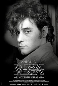 Cartel de 'Antonio Vega. Tu voz entre otras mil'.