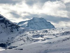 Castro Valera nevado.