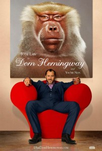 Cartel de 'Dom Hemingway'.