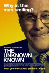 Cartel de 'Donald Rumsfeld: certezas desconocidas'