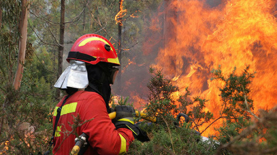 Un bombero de paisano rescata a una mujer que se había lanzado al Pisuerga en Valladolid