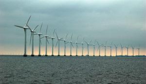 Energia eolica marina.
