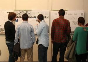 Exposición en la sede del CEU en Valencia