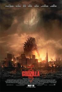 Cartel de 'Godzilla'.