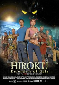 Cartel de 'Hiroku: Defensores de Gaia'.