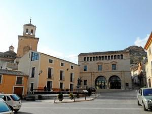 Plaza de Arriba de la localidad de Jumilla. / Foto: commons.wikimedia.org