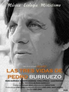 Cartel de 'Las tres vidas de Pedro Burruezo'