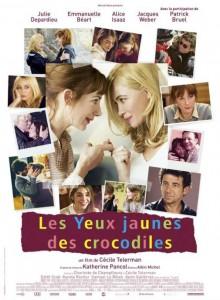 Cartel de 'Los ojos amarillos de los cocodrilos'