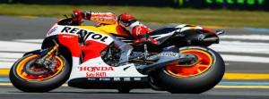 Márquez en el Gran Premio Monster Energy de Francia.