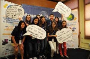 Participantes y ganadores de la final de Clipmetrajes. / Foto: J. M. Mateo Manos Unidas.