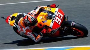 Marc Márquez en la clasificación del trofeo francés de MotoGP.