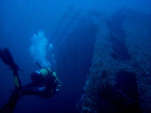 Naufragio del SS Sirio.