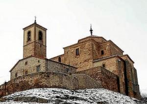 Iglesia de San Millán de Oncada. / Foto: www.sorianitelaimaginas.com/