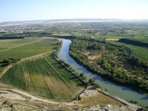 Panorámica del Valle del Ebro