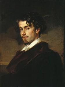 Retrato de Gustavo Adolfo Bécquer por su hermano, el pintor Valeriano Bécquer (1862).