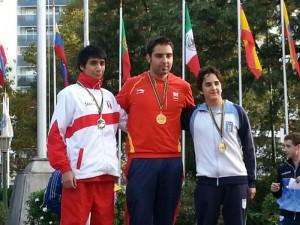 El campeón Roberto Martín.
