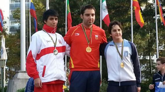 El español Roberto Martín, medalla de oro en el Campeonato Iberoamericano de Tiro Deportivo de Buenos Aires