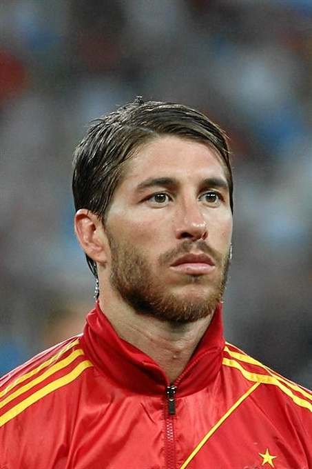 El futbolista Sergio Ramos, uno de los premiados.