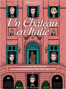 Cartel de 'Un castillo en Italia'