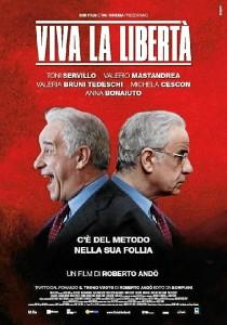 Cartel de 'Viva la libertad'.