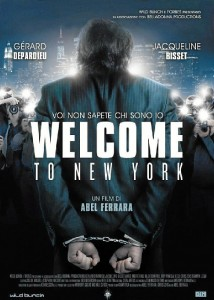 Cartel de 'Welcome to New York'.