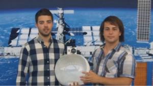 Alumnos del proyecto Space Helmet.