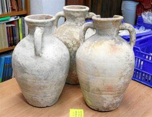 Cerámica medieval encontrada en Paterna.
