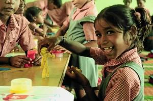 Los más pobres de esta zona de India reciben una educación gracias a esta Asociación. / Foto: www.akshy.org