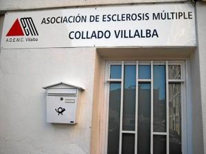 Fachada de la Asociación de Collado Villalba.