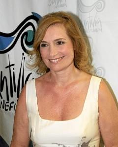 Assumpta Serna, en el Festival de Islantilla, donde en 2013 recibió el Premio Luis Ciges.