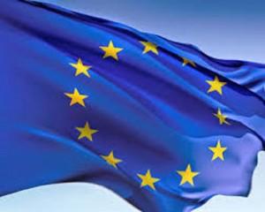 Imagen de la bandera europea.